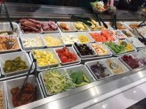 big variety of veggies