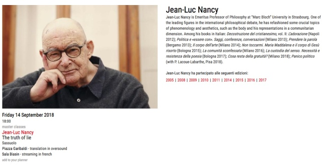 Jean Luc Nancy